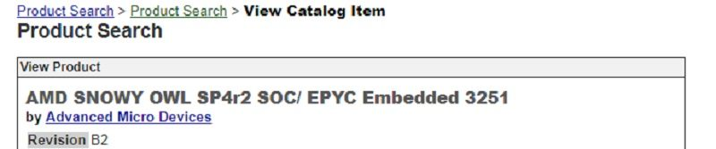 AMD Snowy Owl Embedded Zen CPUs Leaked   eTeknix