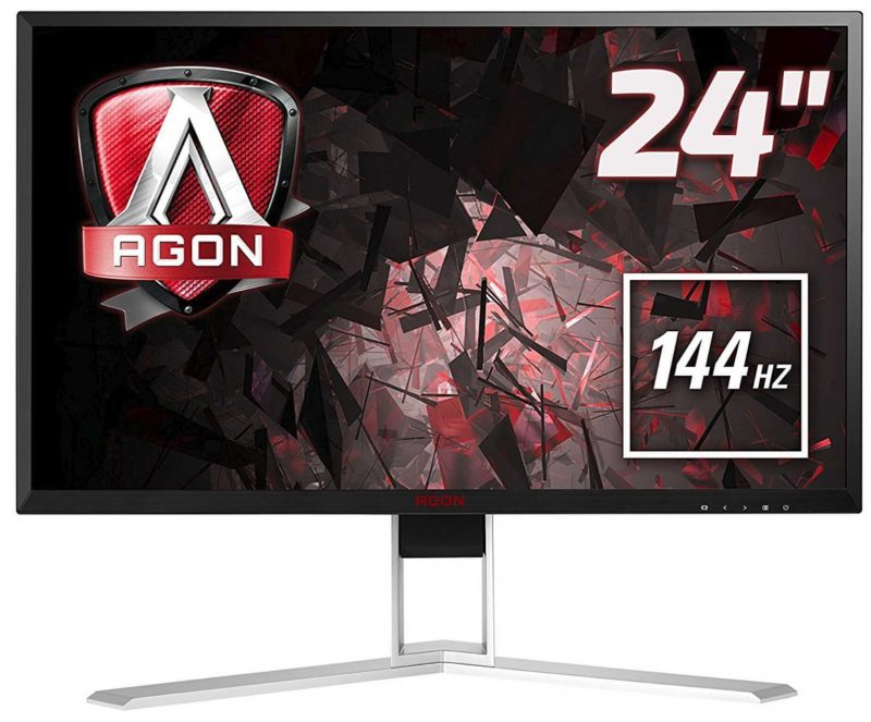 Win an AOC AGON AG241QX Gaming Monitor