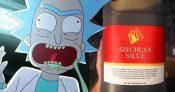 rick and morty szechaun sauce