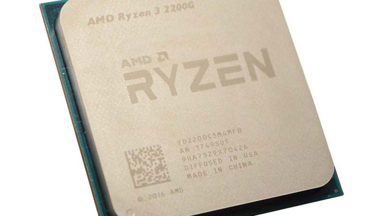 AMD Ryzen 3 2200G Processor With Vega Review | eTeknix