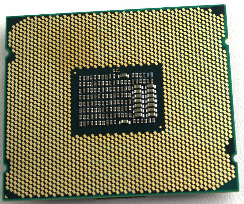 Intel Xeon W-2195 Photo view bottom
