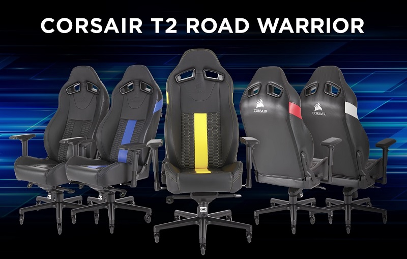 Incredible Corsair Reveals T2 Road Warrior Gaming Chair Eteknix Camellatalisay Diy Chair Ideas Camellatalisaycom