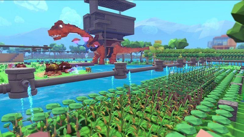 PixARK – Minecraft/Ark Survival Evolved Hybrid Releases Soon