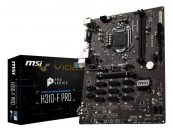 MSI H310-F Pro Crypto-Mining Motherboard Pictured