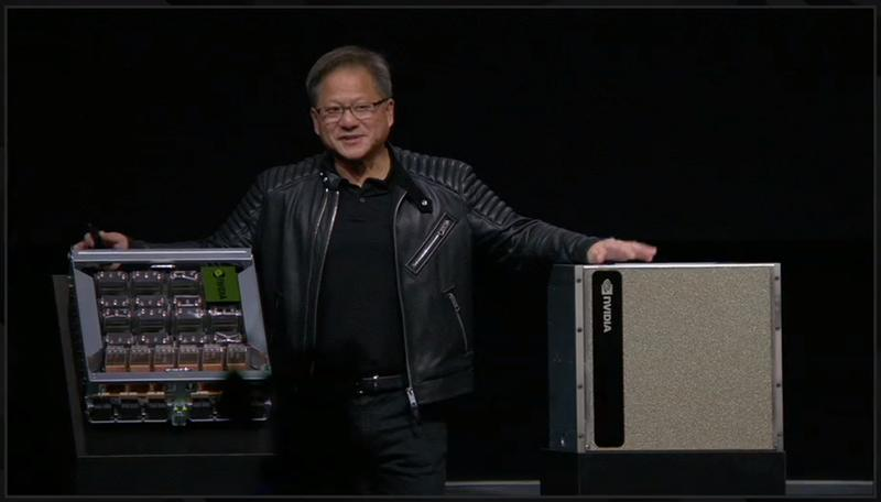 NVIDIA Announces DGX-2 2-PetaFLOP Deep Learning System | eTeknix