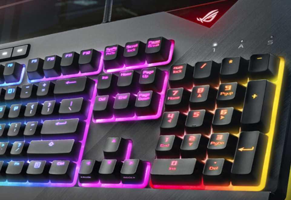 ASUS RoG STRIX Flare Mechanical Gaming Keyboard Review | eTeknix