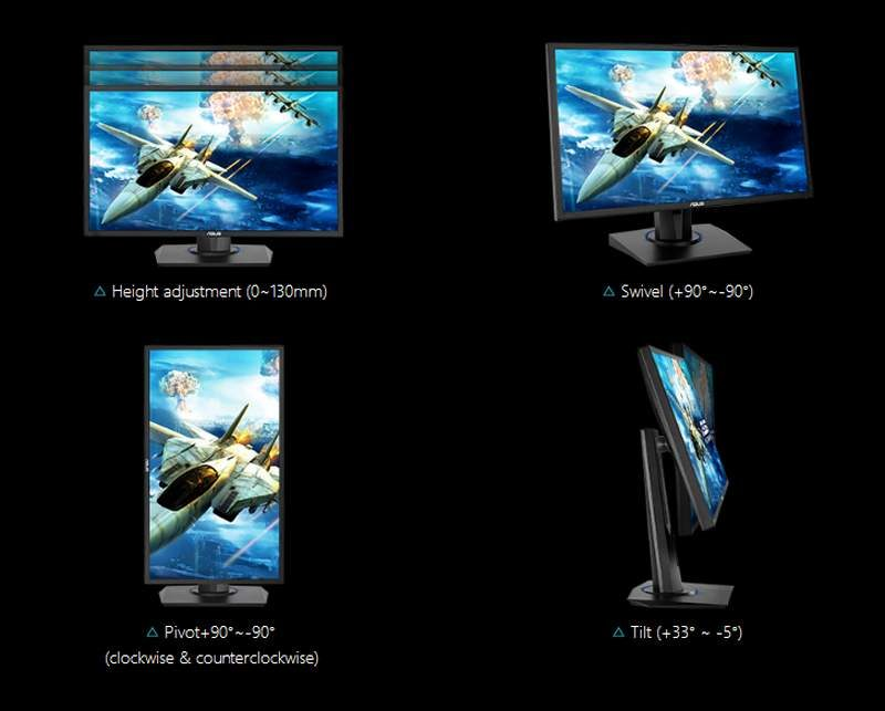ASUS Introduces VG255H Monitor for Console Gaming | eTeknix