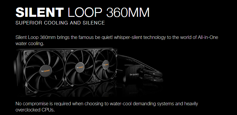 be quiet! Silent Loop 360