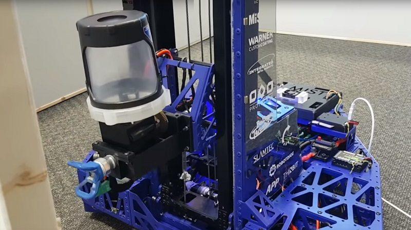 Mist Robot Designed To Paint Your Walls Eteknix