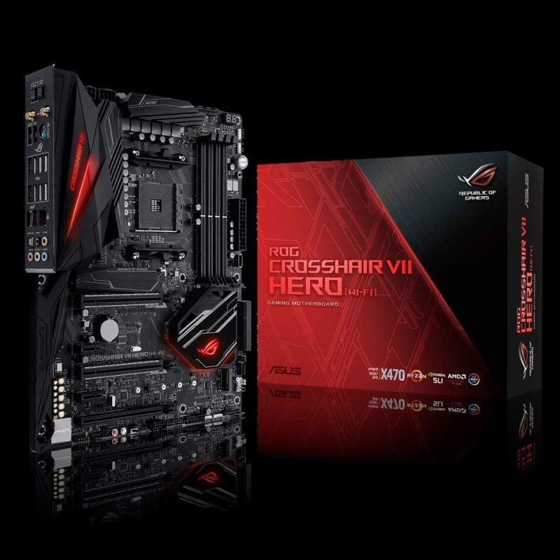 ASUS Unveils AMD AM4 X470 Motherboard Lineup | eTeknix