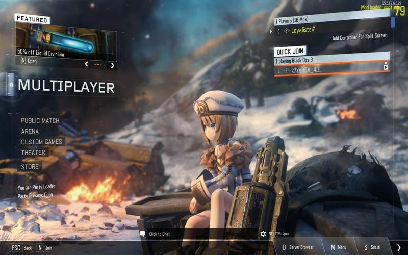 Call of Duty Mod Hilariously Replaces Soldiers With Anime Girls