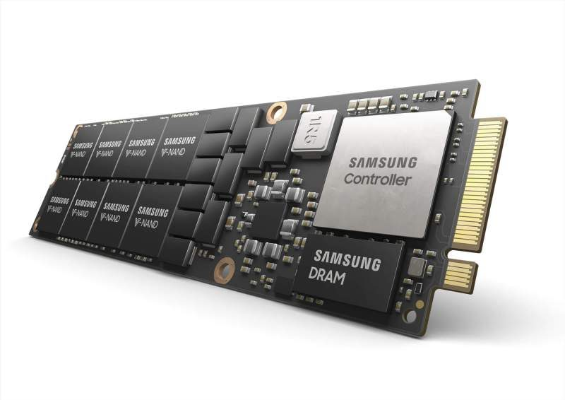 Samsung Launches 8TB NF1 NVMe SSD For Data Centers