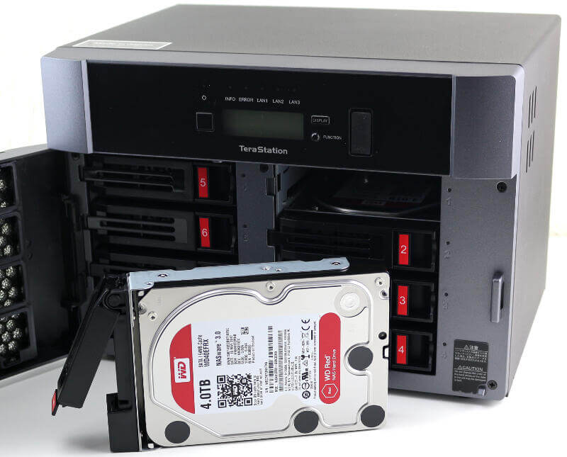 Buffalo 5810DN 8-Bay 32TB Preloaded NAS Review | eTeknix