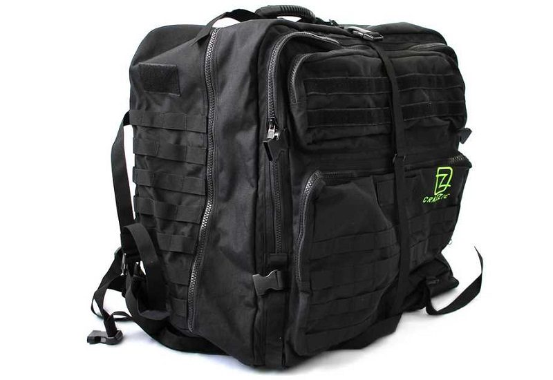 crazzie pro gear pc tower backpack