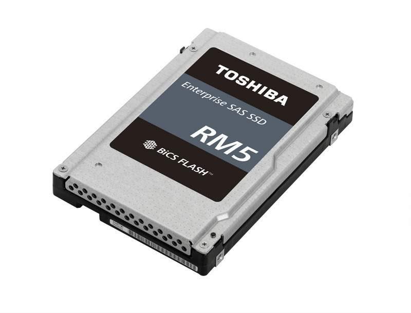 Toshiba Introduces RM5 Enterpise Value SAS SSDs