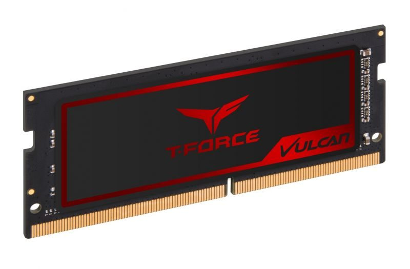 TeamGroup Announces New T-FORCE Vulcan SO-DIMM DDR4