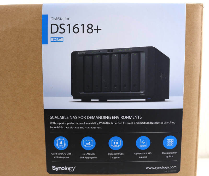 Synology DS1618+ 6-Bay High-Performance NAS Review | eTeknix
