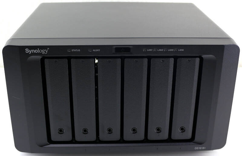 Synology DS1618p Photo view front top