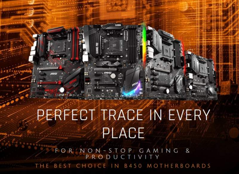 MSI B450 Motherboard Lineup Prices Listed | eTeknix