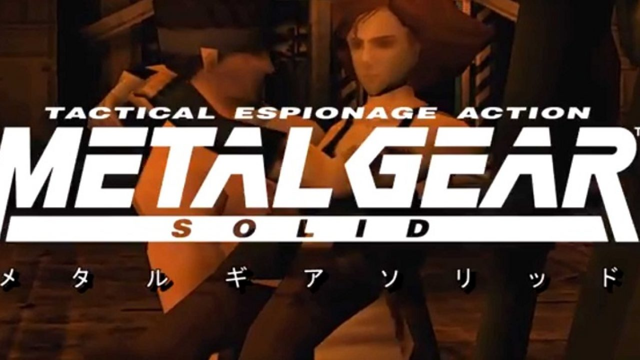 Metal Gear Solid Is Given The Anime Intro Treatment Eteknix