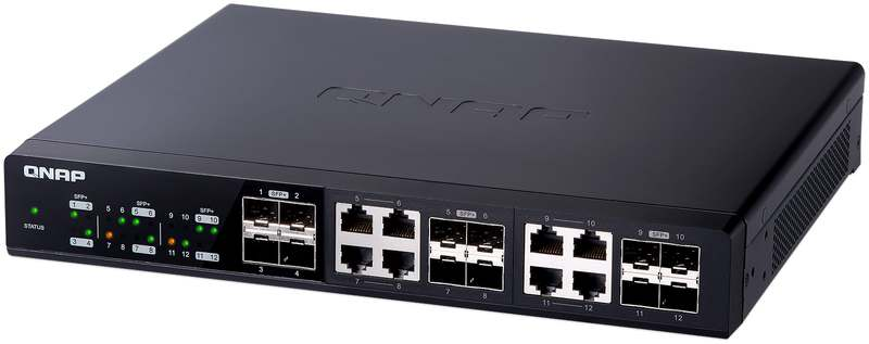 QNAP's QSW-1208-8C 12-Port 10GbE Switch Is Here | eTeknix