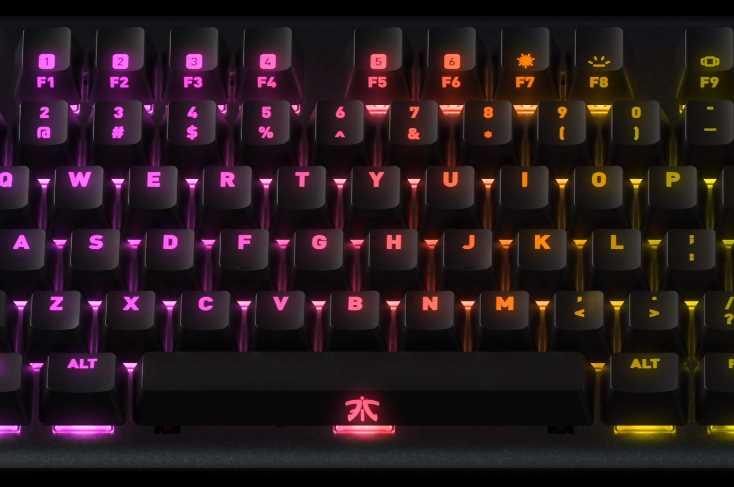 0e16485e83d Fnatic Streak Mechanical Gaming Keyboard Review   eTeknix