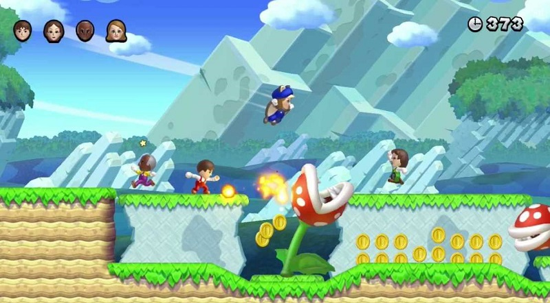 New Super Mario Bros  Wii-U Challenge Targets A No Coin Run