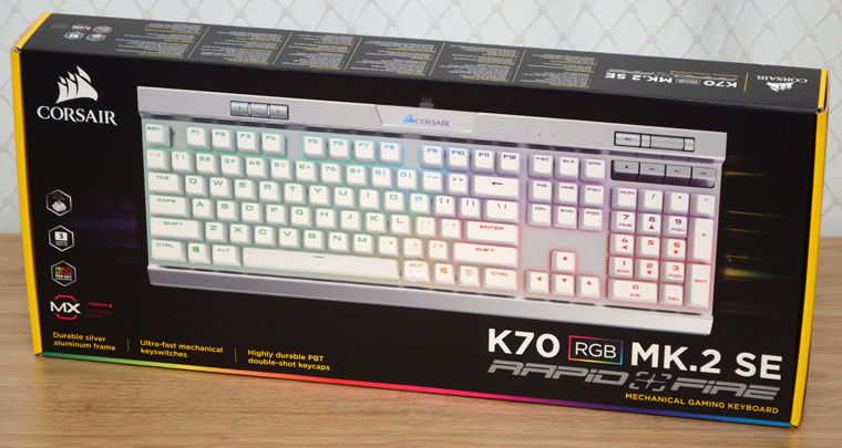Corsair K70 MK 2 SE RGB Review - The Worlds Coolest Keyboard