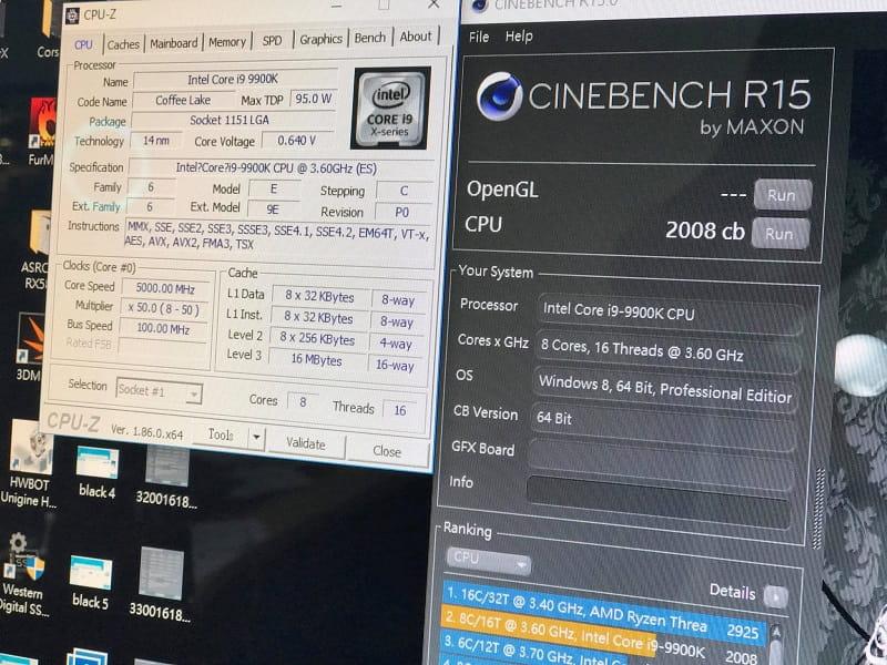 Intel Core i9 9900K Cinebench 15 Results Leaked | eTeknix
