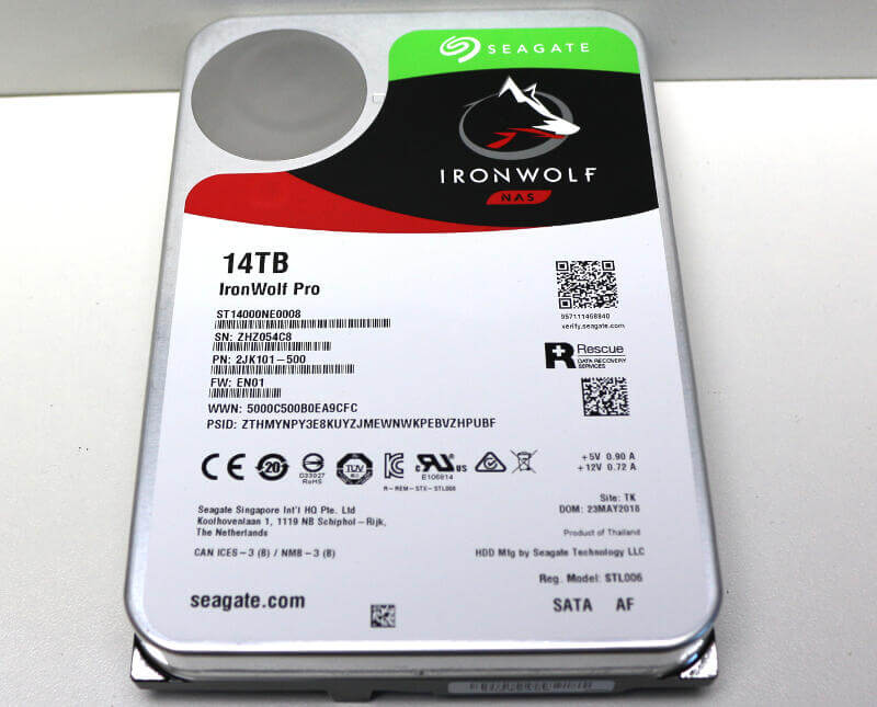 Kết quả hình ảnh cho IronWolf Pro 14TB Hard Drive