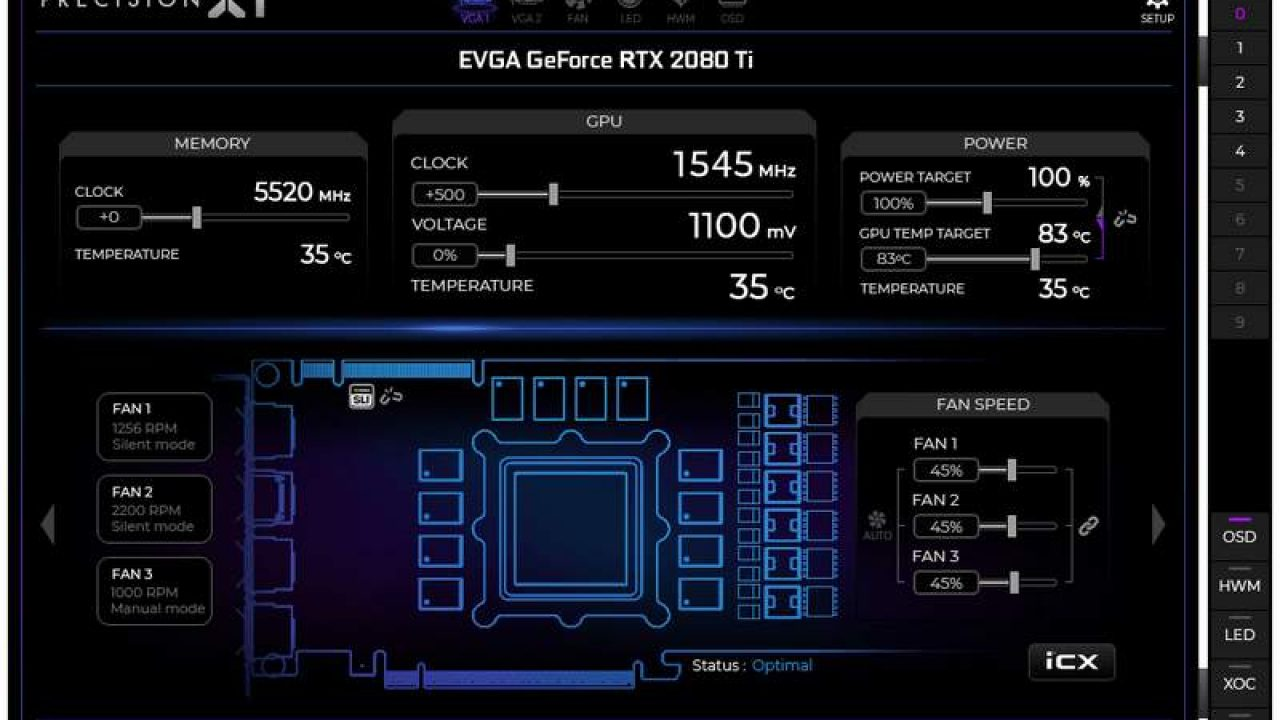 EVGA Precision X1 for GeForce RTX 20-Series Now Available | eTeknix