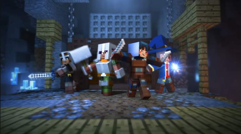 Mojang Is Developing A Minecraft Dungeon Crawler Spin Off
