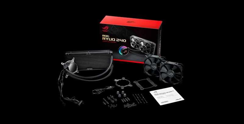 ASUS ROG Ryou 240 AIO CPU Cooler Review | eTeknix