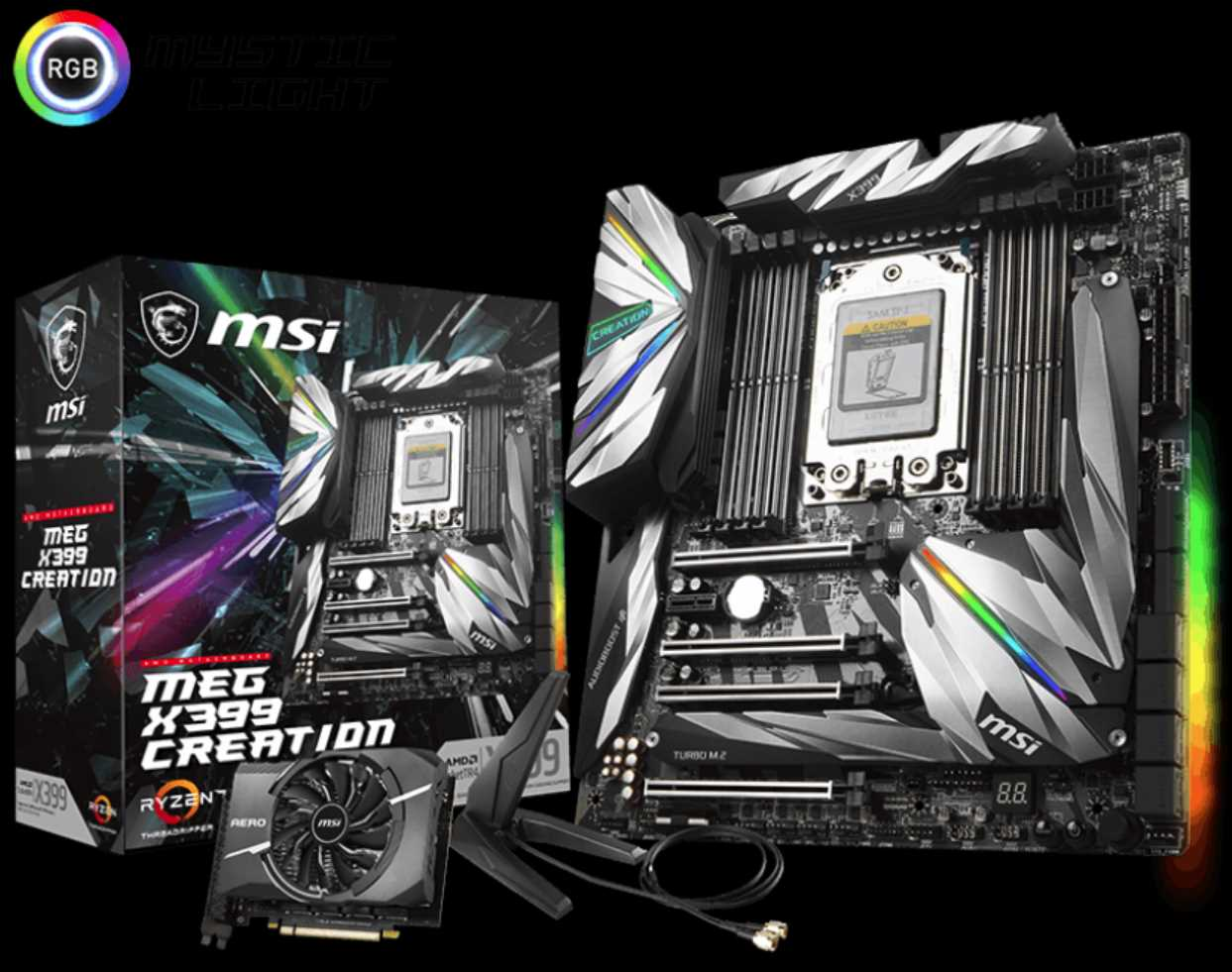 MSI MEG X399 Creation Threadripper Motherboard Review | eTeknix