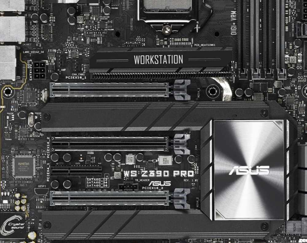 ASUS WS Pro Z390 Motherboard Review | eTeknix