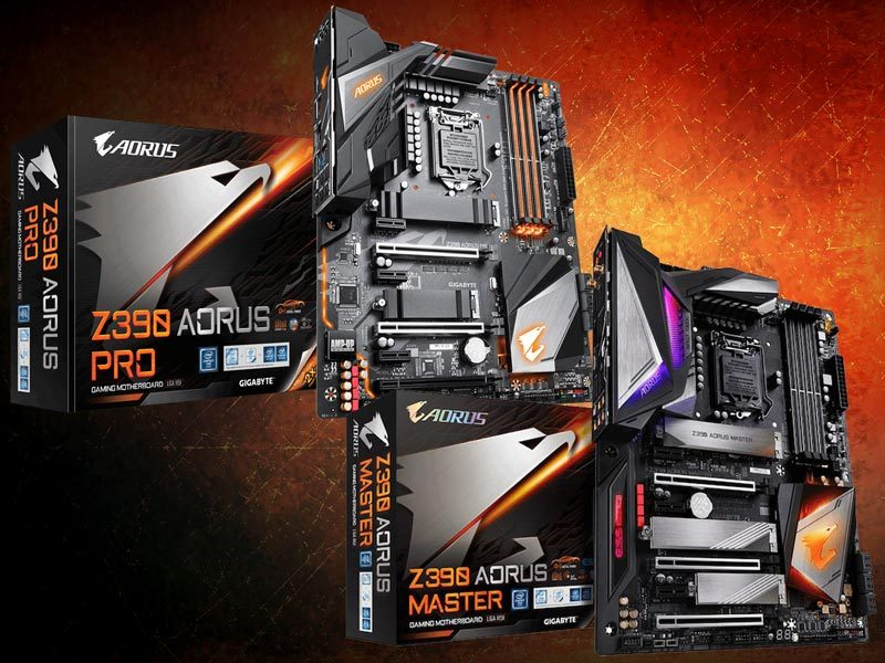 AORUS Z390 Pro and Master Motherboards Preview | eTeknix