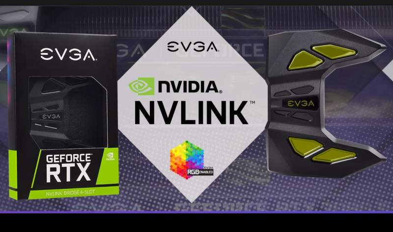 EVGA RTX NVLink SLI Bridge with RGB LED Now Available