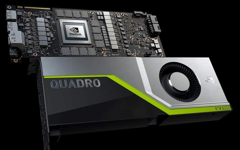 NVIDIA Opens Pre-Orders for Quadro RTX 5000 and RTX 6000