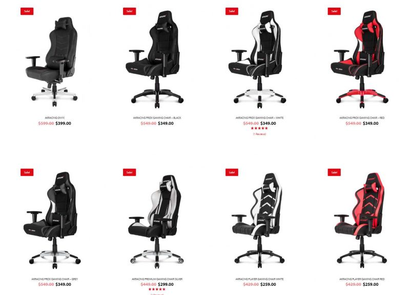 Akracing Offer Huge Gaming Chair Black Friday Discounts