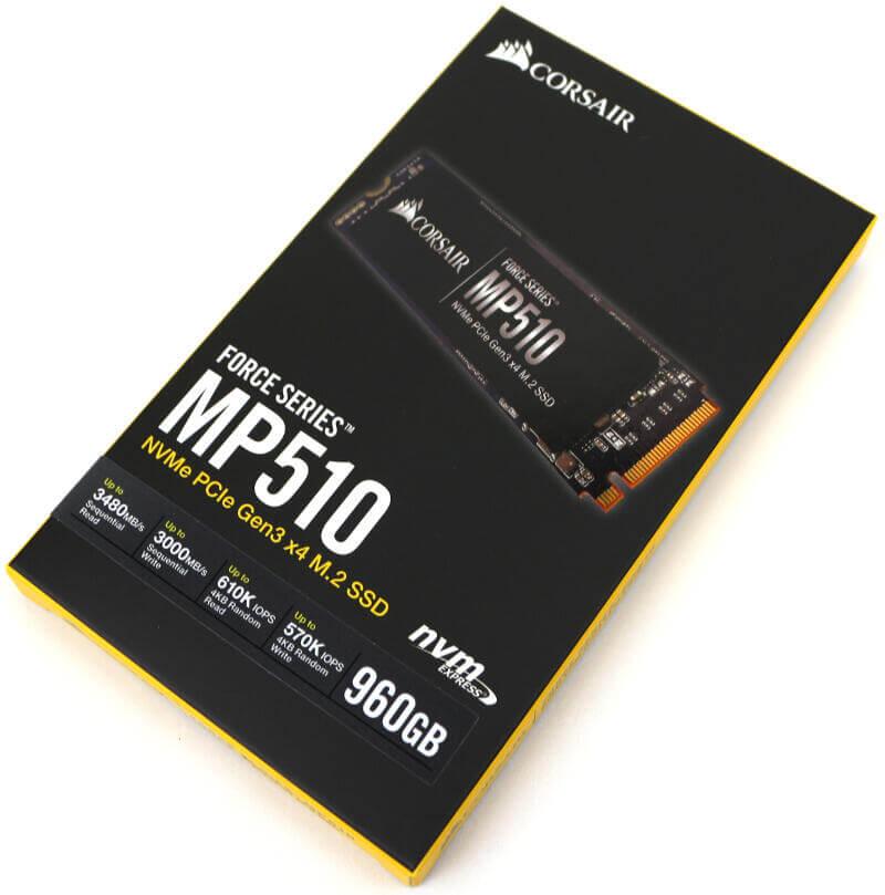 Corsair Force MP510 960GB Photo header