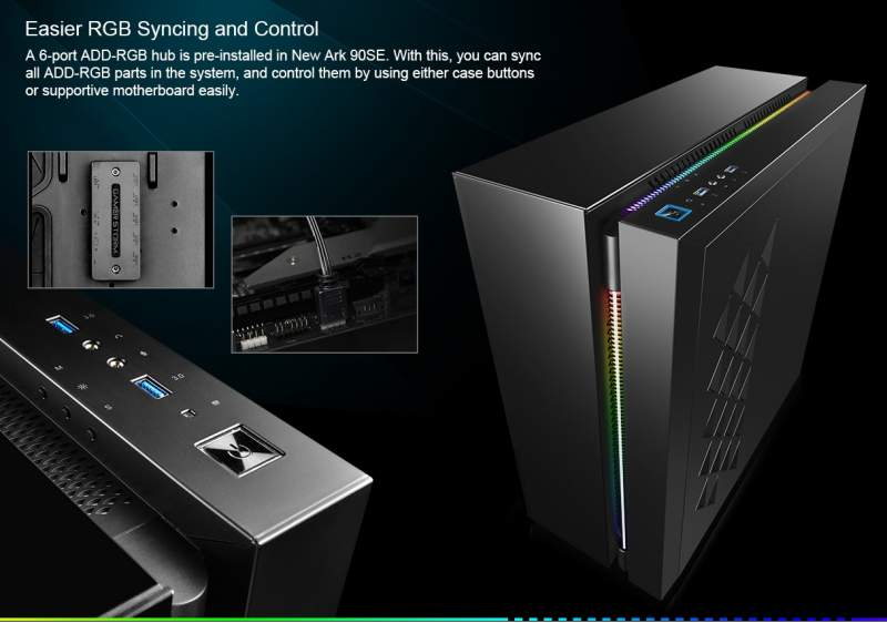 Deepcool Launches the New Ark 90SE Case with ARGB | eTeknix