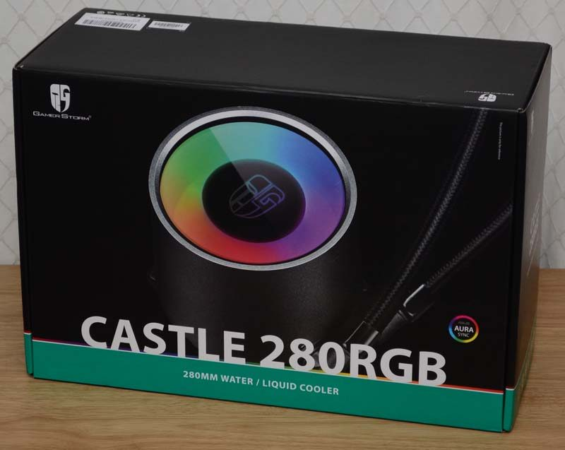 DeepCool Castle RGB 280mm TR4 CPU Cooler Review | eTeknix