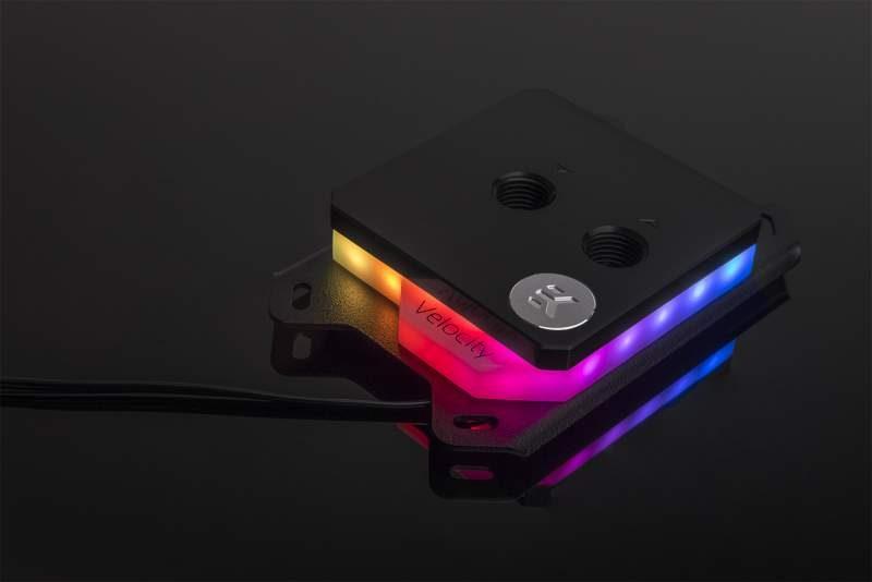 EKWB Launches New Velocity D-RGB CPU Blocks