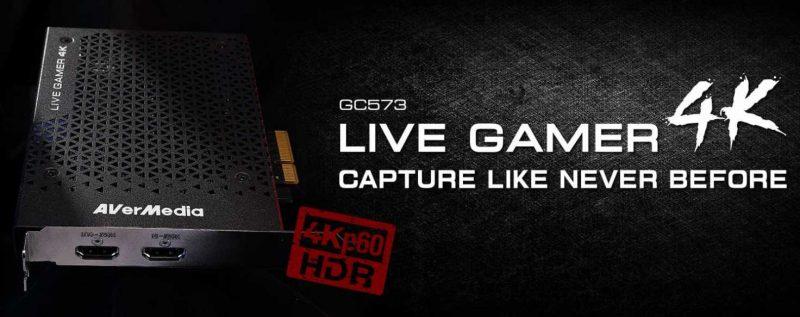 AverMedia GC573 Live Gamer 4K HDR Capture Card Review | eTeknix