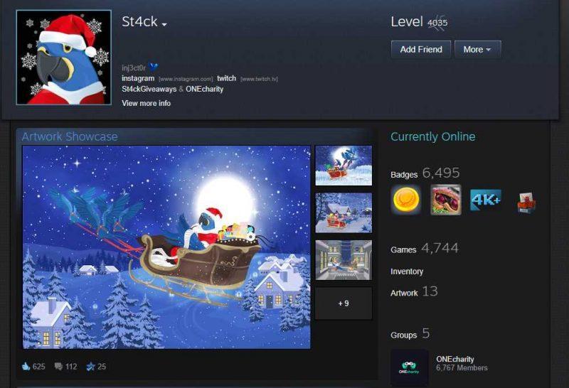 Qatari Royal Spent $250k+ To Get A Level 4,000 Steam Account