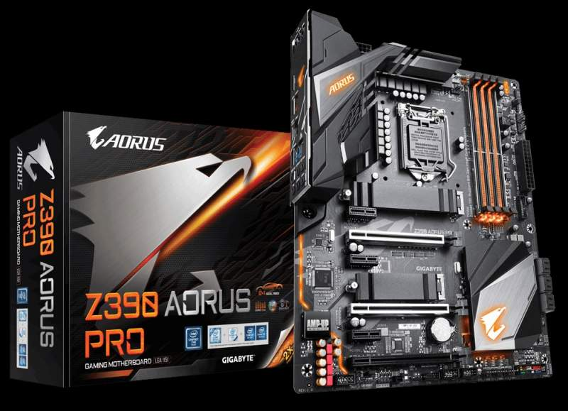 Gigabyte Z390 Boards Now Support up to 128GB DDR4 with