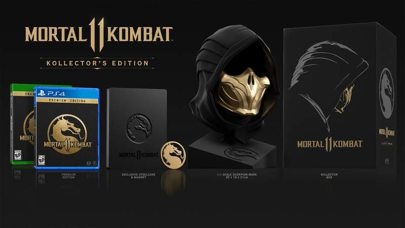 Mortal Kombat 11 Roster and Fatalities Revealed at Live