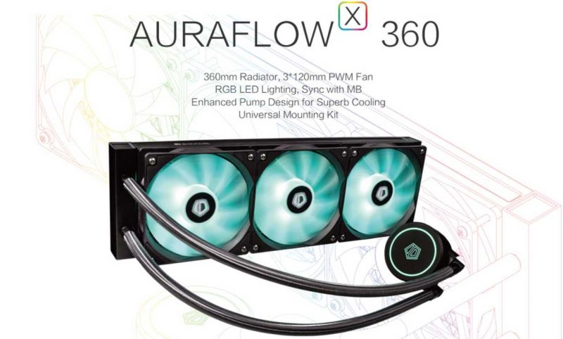 ID-Cooling Auraflow X 360 AIO CPU Cooler Review | eTeknix