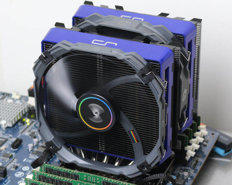 CRYORIG R1 Universal on SP3 Photo addon colour blue 1