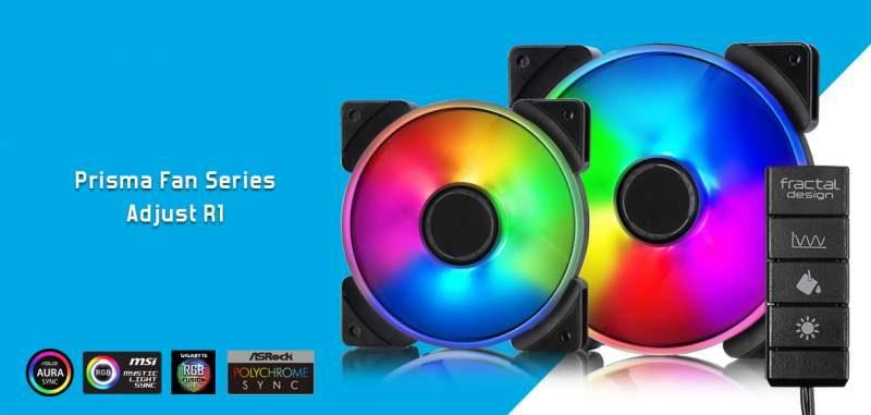 Fractal Design Launches the Prisma RGB Fan Series | eTeknix